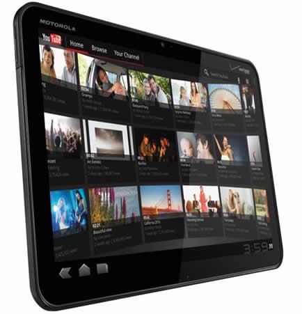 Motorola Xoom será lanzada en México en abril - motorola-xoom