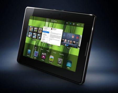 La Blackberry Playbook costará lo mismo que el iPad 2 - playbook