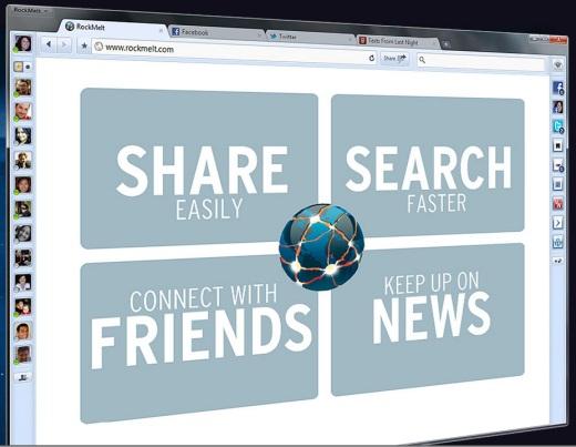 rockmelt El navegador social Rockmelt ahora tiene su beta pública