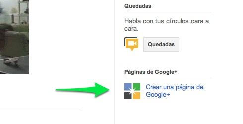 crear pagina google plus Cómo hacer una página en Google+