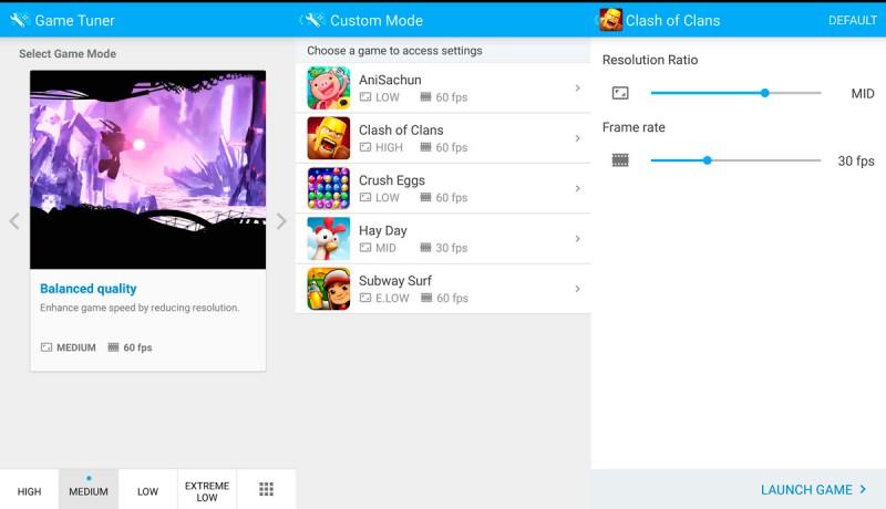 Samsung crea app para mejorar resolución de juegos móviles en Android - Game-Tuner-Samsung-2-800x460