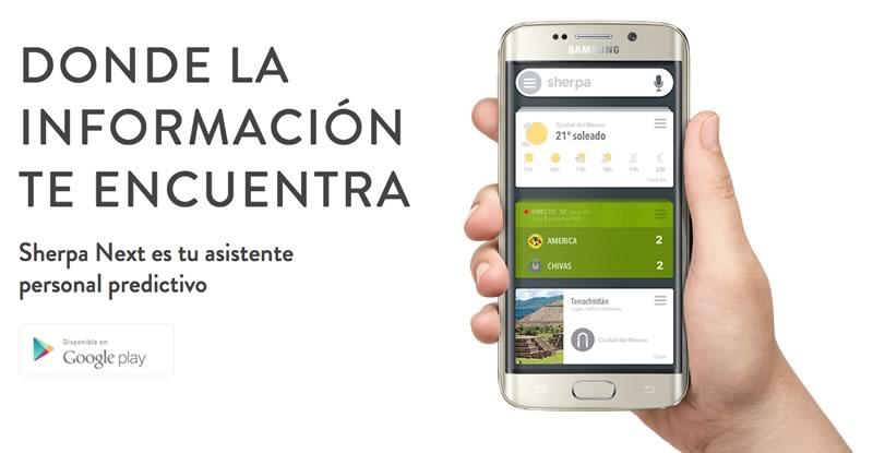 """Sherpa Next, el """"Siri"""" para Android llegó a México - asistente-sherpa-next-android"""