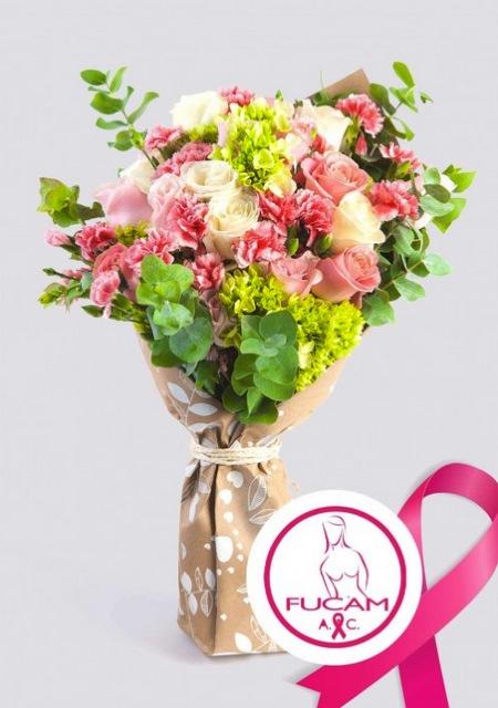 AZAP Flores y Regalos se une a FUCAM en el Mes del Cáncer de Mama - azap-flores-fucam-octubrerosa