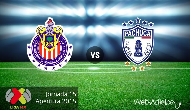 Chivas vs Pachuca, Fecha 15 del Apertura 2015 - chivas-vs-pachuca-apertura-2015