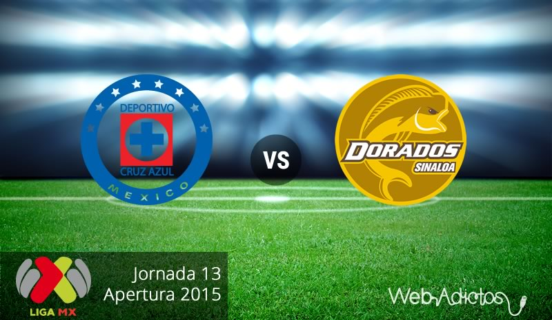 Cruz Azul vs Dorados en el Apertura 2015 | Jornada 13 - cruz-azul-vs-dorados-apertura-2015