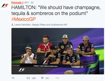 Vive el gran premio de Formula 1 en Twitter - el-gran-premio-en-twitter