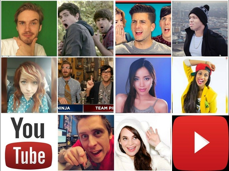 Dan a conocer los 10 'youtubers' mejor pagados del mundo - forbes-youtube-800x597