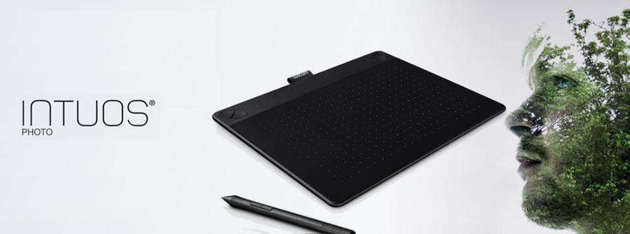 intuos photo Wacom lanza nueva tabletas intous y Bamboo Spark