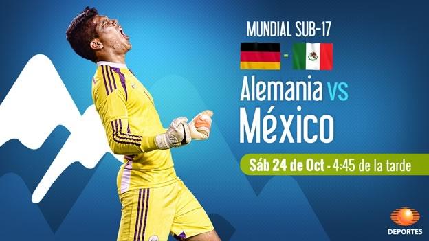 mexico vs alemania en vivo mundial sub 17 chile 2015 México vs Alemania, Mundial Sub 17 Chile 2015