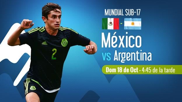 México vs Argentina en el Mundial Sub-17 Chile 2015 - mexico-vs-argentina-en-vivo-mundial-sub-17