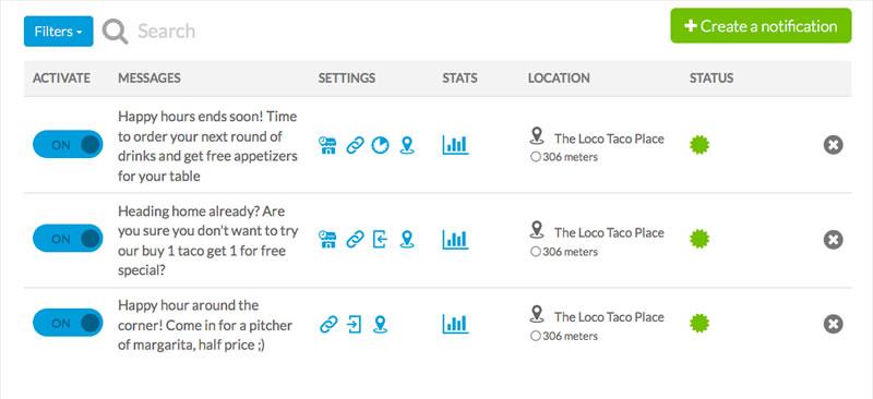 notificaciones push geolocalizadas goodbarber Goodbarber lanza notificaciones geolocalizadas en su app builder