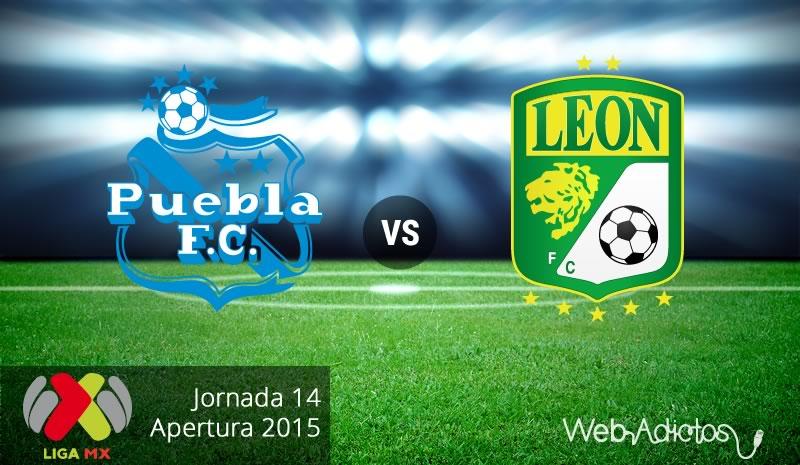 Puebla vs León, Fecha 14 del Apertura 2015 - puebla-vs-leon-apertura-2015