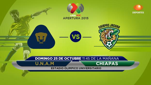 pumas vs jaguares en vivo apertura 2015 Pumas vs Jaguares, Jornada 14 del Apertura 2015