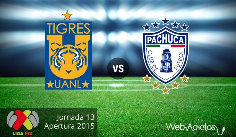 Tigres vs Pachuca, Jornada 13 del Apertura 2015 - tigres-vs-pachuca-apertura-2015