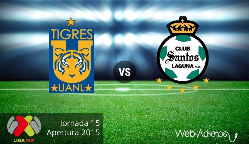 Tigres vs Santos, Jornada 15 del Apertura 2015 - tigres-vs-santos-apertura-2015