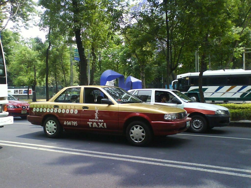 Taxis del DF tendrán aplicación similar a Uber - 22-nov-taxidf