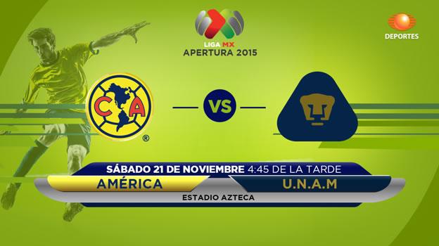 América vs Pumas, Última jornada del Apertura 2015 - america-vs-pumas-en-vivo-apertura-2015