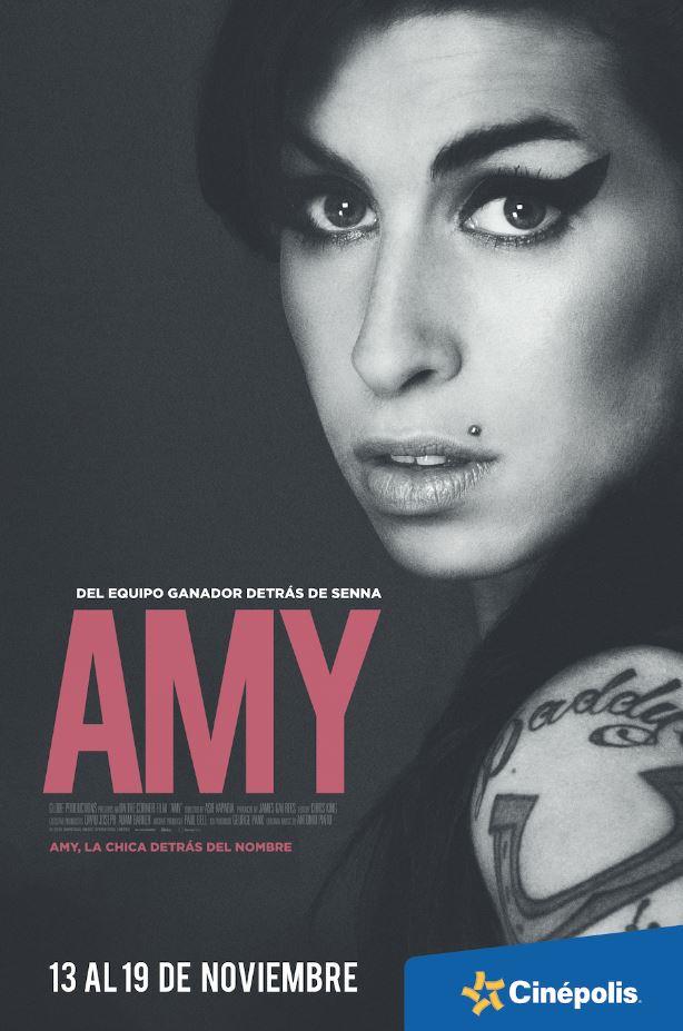 Cinépolis extiende la proyección del documental Amy - amy-documental