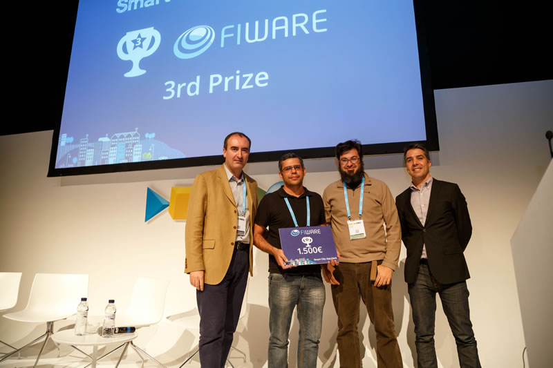 Dos apps latinoamericanas, ganadoras de los premios FIWARE - Smart City App Hack - bike-cidadao-brasil