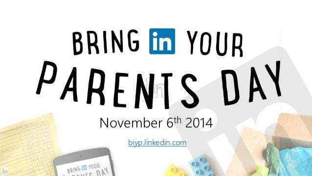 LinkedIn anuncia los trabajos más incomprendidos por los papás - bring-in-your-parents-day-linkedin-anuncia-los-trabajos-mas-incomprendidos-por-los-papas
