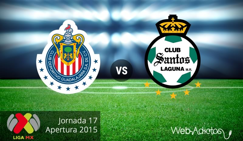 Chivas vs Santos, última jornada del Apertura 2015 - chivas-vs-santos-apertura-2015