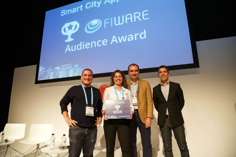 Dos apps latinoamericanas, ganadoras de los premios FIWARE - Smart City App Hack - citiviva-uruguay