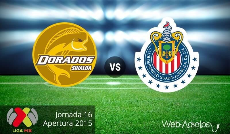 Dorados vs Chivas, Fecha 16 del Apertura 2015 - dorados-vs-chivas-apertura-2015