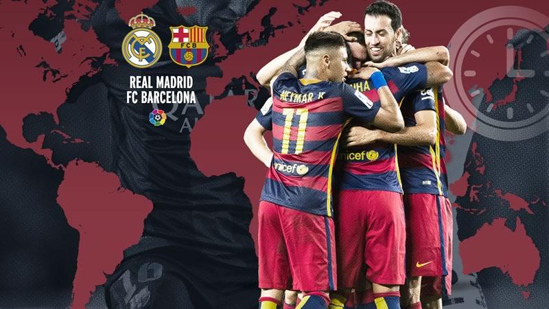 A qué hora juega Real Madrid vs Barcelona y en qué canal verlo   Liga BBVA 2015 - horario-real-madrid-vs-barcelona-clasico-2015-2016