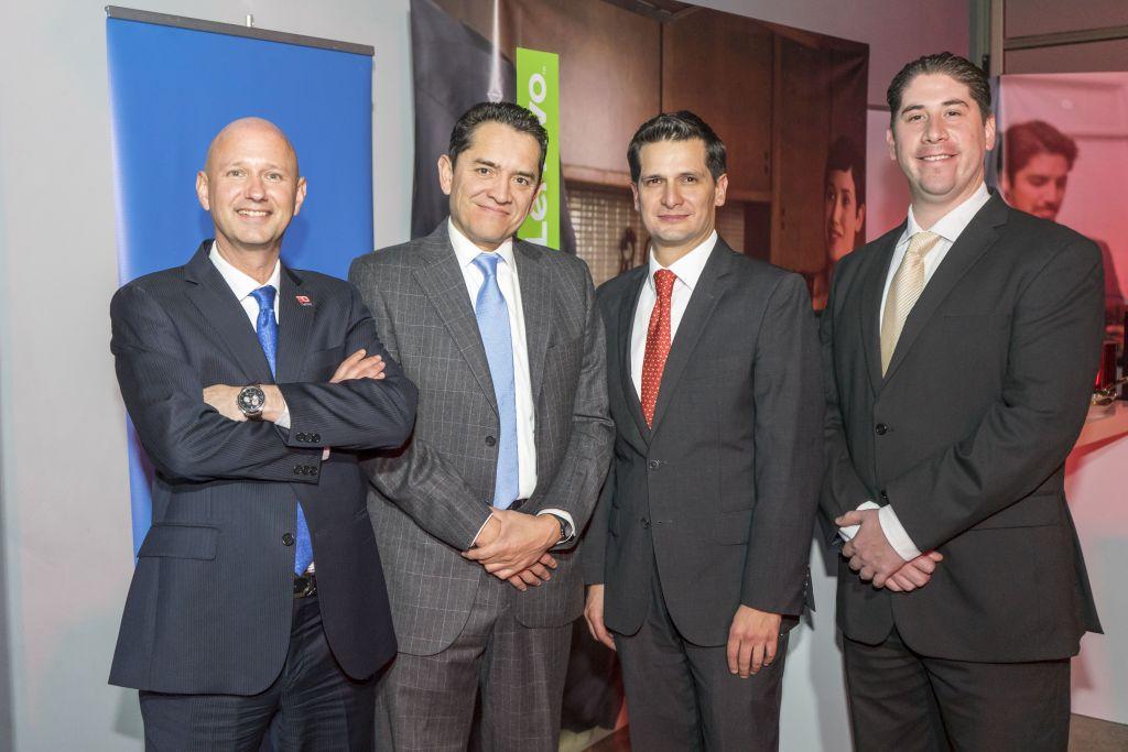 Lenovo cumple 10 años de presencia en México - jacobo-stern-gabriel-ocadiz-raul-corona-y-luis-vejar