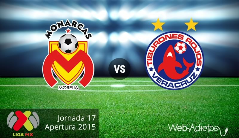 monarcas morelia vs veracruz apertura 2015 Morelia vs Veracruz, última jornada del Apertura 2015