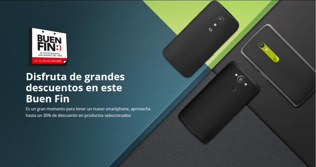 Motorola lanza sus promociones para el Buen Fin 2015 - moto