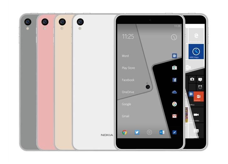 nokiac1 Un hipotético Nokia C1 aparece en internet con Android y Windows 10