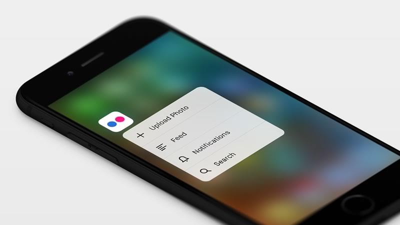 Llega el nuevo Flickr para iOS 9 con soporte para 3D Touch y más - nuevo-flickr-ios-3d-touch