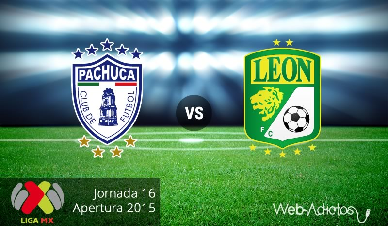 Pachuca vs León en el Torneo Apertura 2015 | Jornada 16 - pachuca-vs-leon-apertura-2015
