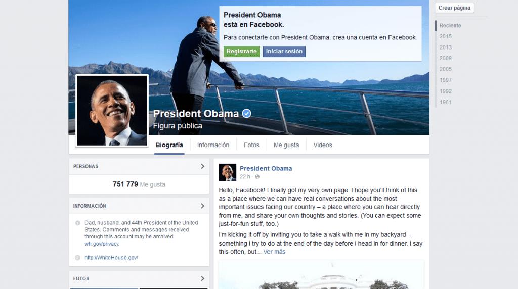 Barack Obama abre su página personal en Facebook - sin-titulo1