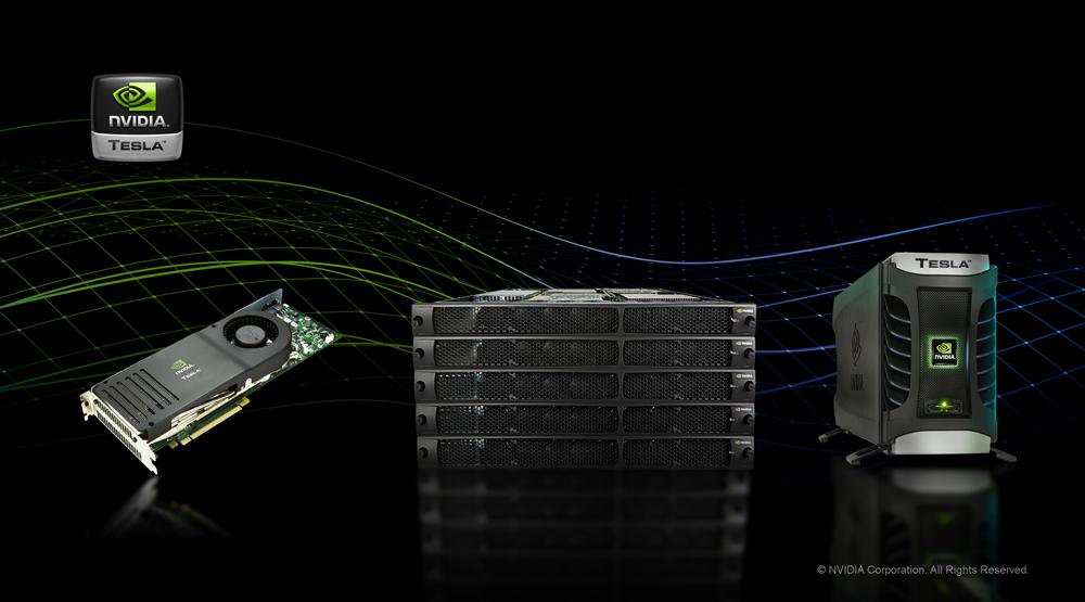 Se dispara el uso del acelerador en supercomputadoras del mundo - tesla_product_line