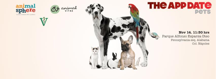 The App Date Pets este fin de semana, lleva a tu mascota - the-app-date-pets-2015