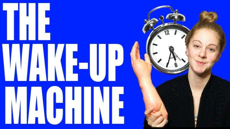 Una chica utiliza Arduino para crear un curioso despertador - the-wake-up-machine