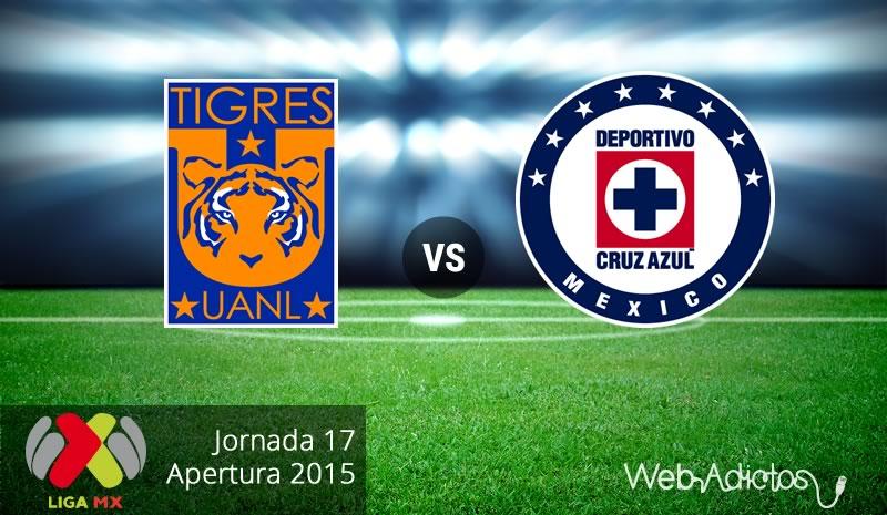 Tigres vs Cruz Azul, Jornada 17 del Apertura 2015 - tigres-vs-cruz-azul-apertura-2015