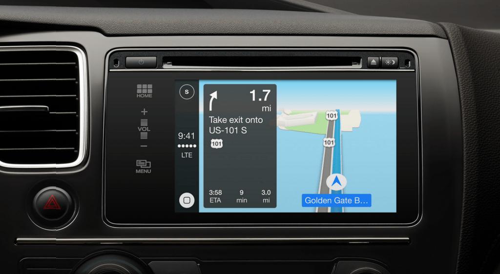 Apple Maps ya es popular entre los usuarios de iOS - apple-carplay-maps