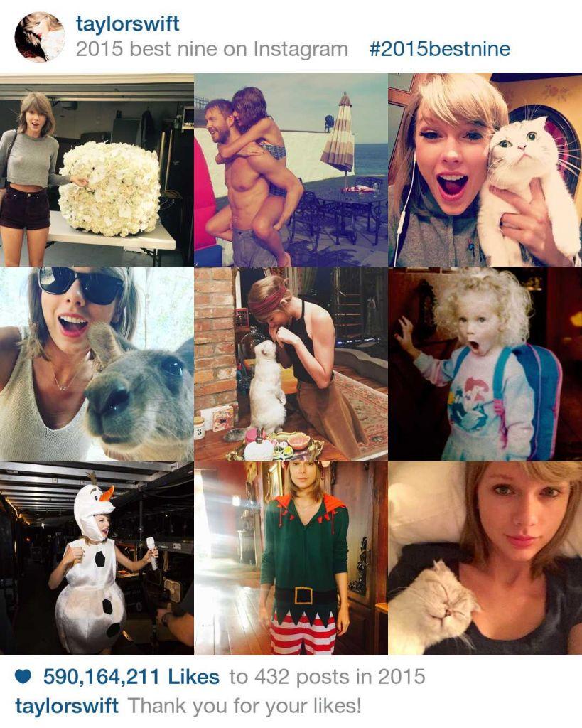 Best Nine te ayuda a publicar las nueve fotos más populares de tu Instagram - best-nine-taylor