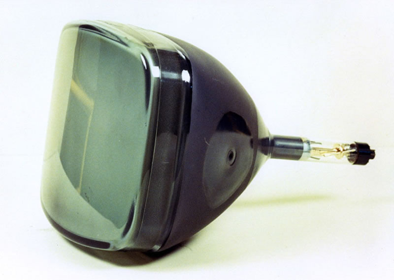 cinescopio de televisores Sugieren triturar cinescopios de TV convencional; pueden vender el cobre que contiene