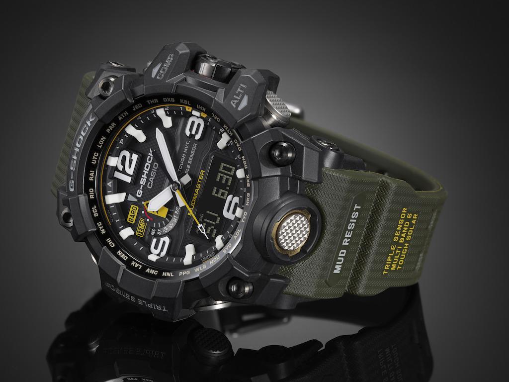 G-Shock presenta Mudmaster, el reloj todoterreno - g-shock-modelo-mudmaster