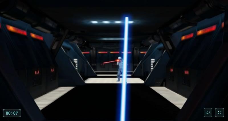 Convierte tu smartphone en un sable láser de Star Wars con este juego de Google - juego-google-star-wars-espada-laser