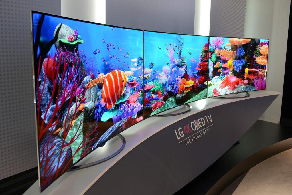 LG realiza sus pronósticos para el 2016 - lg-65ec9700-lined-up