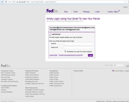 Alertan por correos phishing durante la Navidad - phishing-fedex-navidad