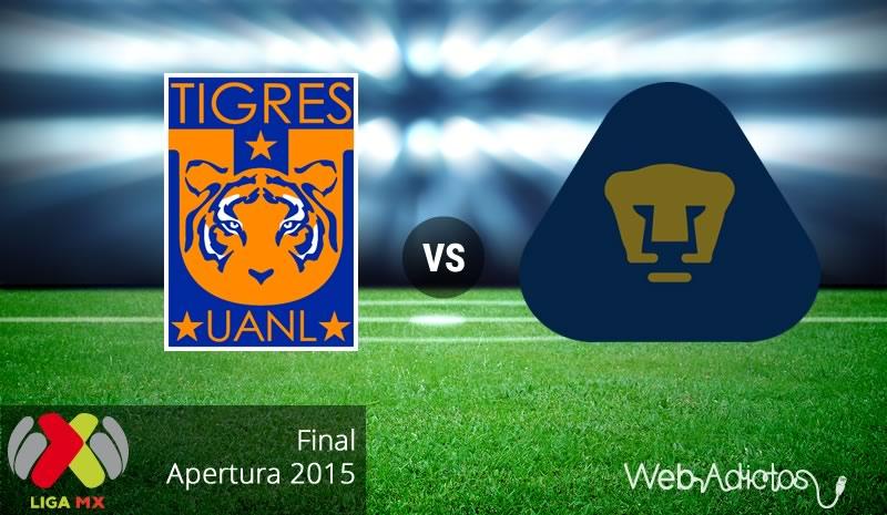 Tigres vs Pumas, final del Apertura 2015 | Partido de ida - tigres-vs-pumas-final-del-apertura-2015