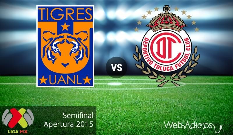 Tigres vs Toluca, Ida de la Semifinal del Apertura 2015 - tigres-vs-toluca-semifinal-apertura-2015