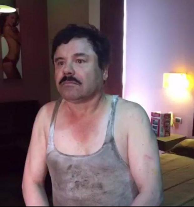 chapo captura 2016 enero Circula en redes sociales fotos de recaptura del Chapo Guzmán