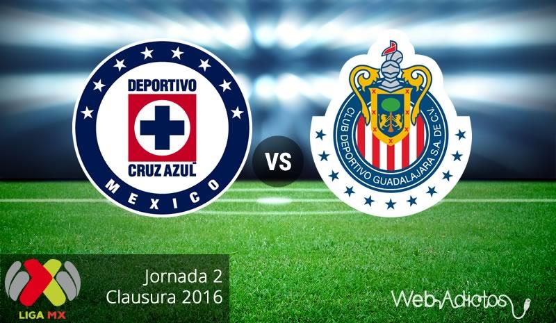 Cruz Azul vs Chivas, Jornada 2 del Clausura 2016 - cruz-azul-vs-chivas-clausura-2016